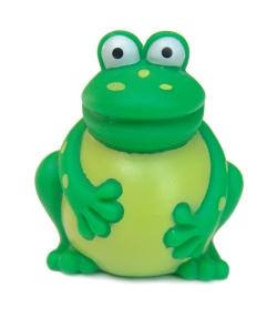 Freddi Staur the Facebook frog