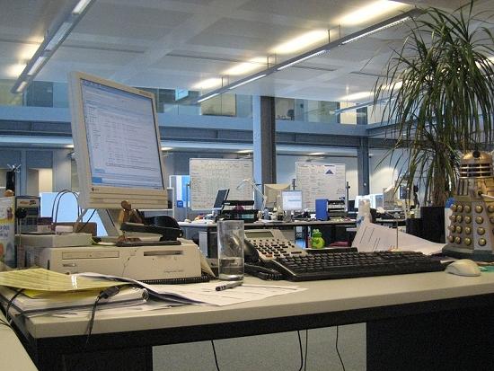 My desk. Circa 2008