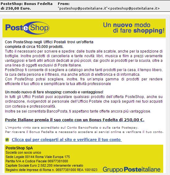 Poste.it phish