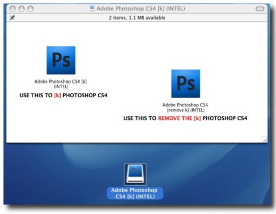 Pirated version of Adobe Photoshop comes complete with a Trojan