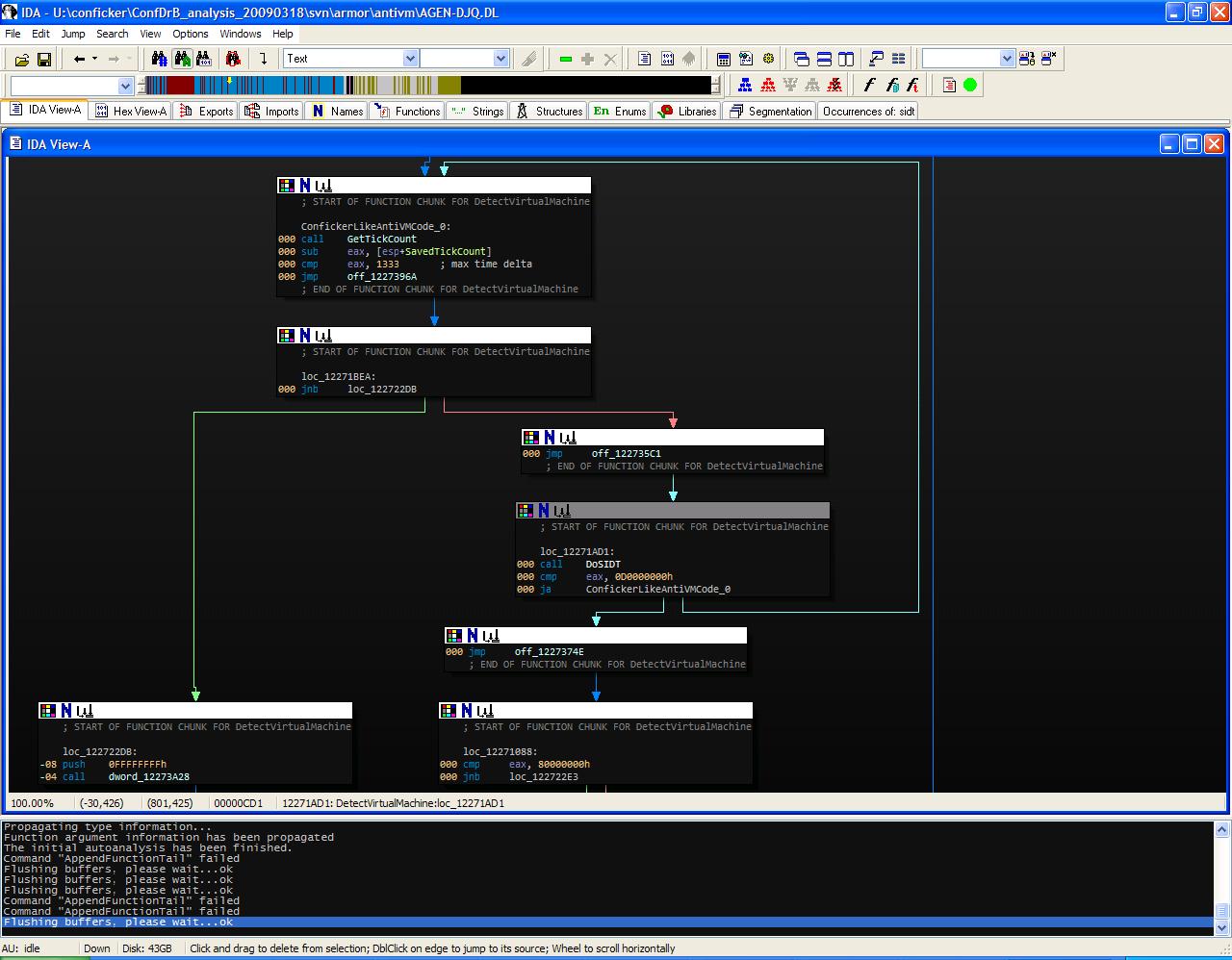 Troj/Agent-DJQ SIDT detection loop