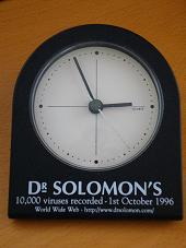 Dr Solomon's virus clock