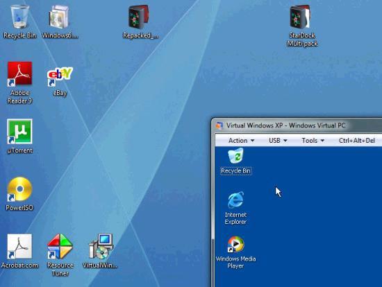 Windows XP Mode on Windows 7