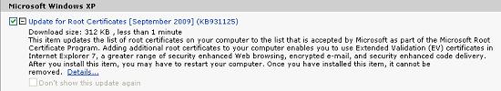 Image of Windows Update
