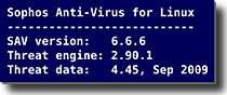Sophos Anti-Virus 6.6.6