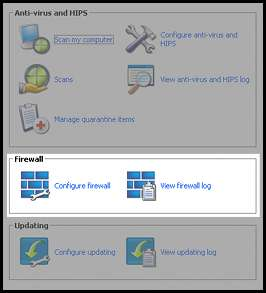 Sophos Endpoint Firewall