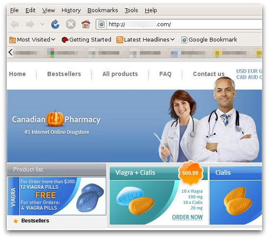 Canadian Pharmacy adopts a Halloween-themed logo