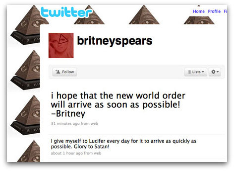 Britney Spears has her Twitter hacked