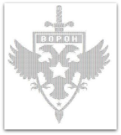 Voron ASCII art
