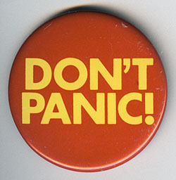 Image of Dont Panic from Jim Linwood's Flickr Photostream