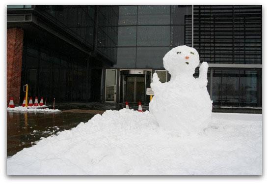 Sophos snowman