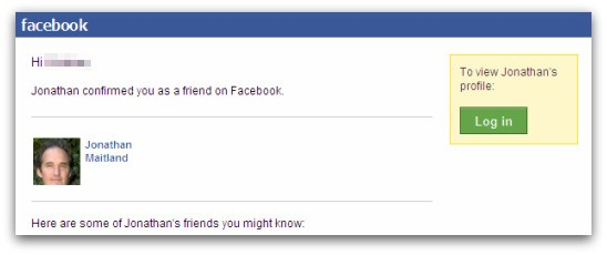 Jonathan Maitland has confirmed my friend request