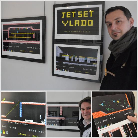 Jet Set Willy exhibition