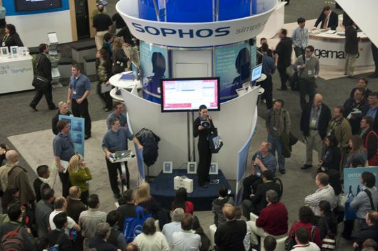 Sophos booth at RSA 2010