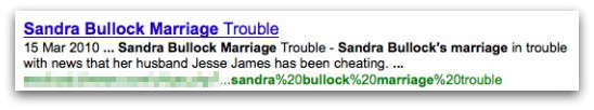 Sandra Bullock Marriage Trouble