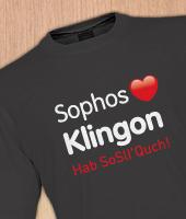 Sophos Klingon t-shirt