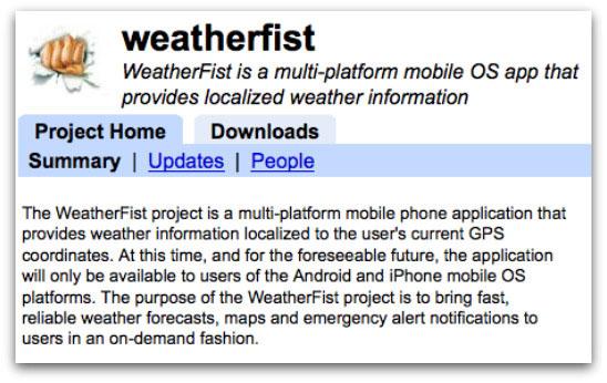 WeatherFist