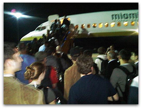 Boarding Air Sophos
