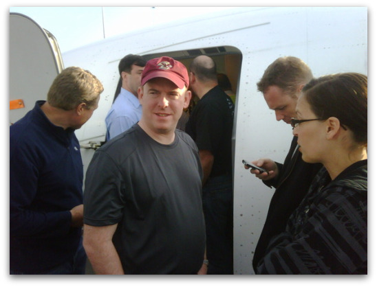 Sophos plane at Halifax, Nova Scotia