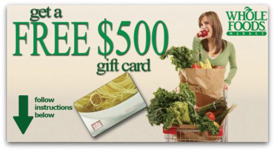 Whole Foods Facebook scam