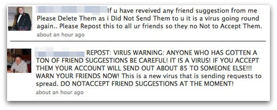 Facebook friend suggestions security scare