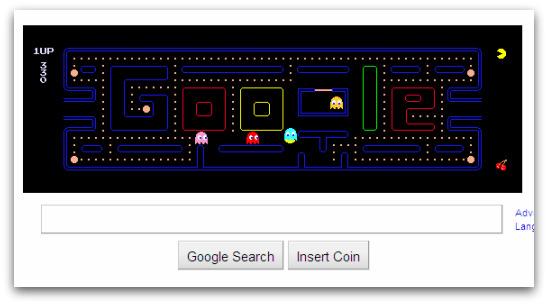 Google celebrates Pacman's 30th birthday