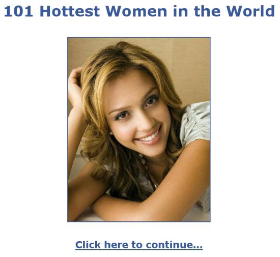 101 Hottest Women In The World