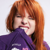 Hayley Williams, lead singer of Paramore