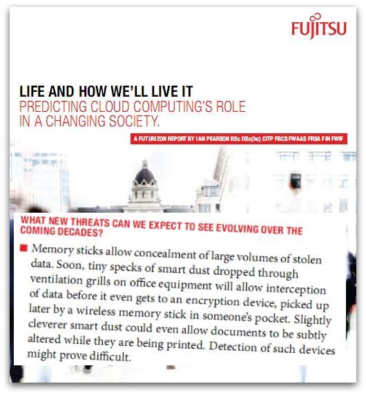 Fujitsu report on Life and How We'll Live It