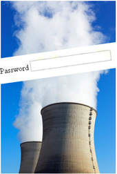 Power plant with password prompt