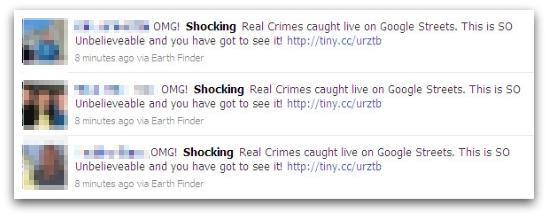 Shocking real crimes status updates