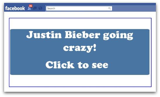 Justin Bieber going crazy!