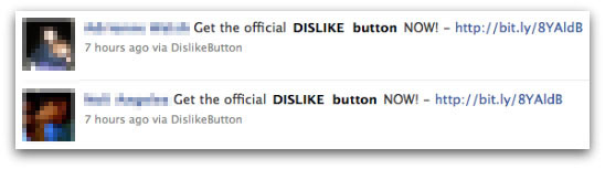 Get the official dislike button NOW