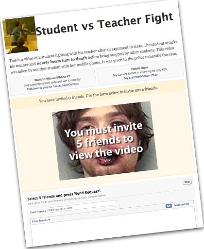 Student vs teacher app