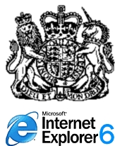 UK Government and Internet Explorer 6