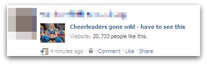 Cheerleaders gone wild update