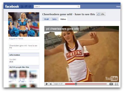 Cheerleaders gone wild video