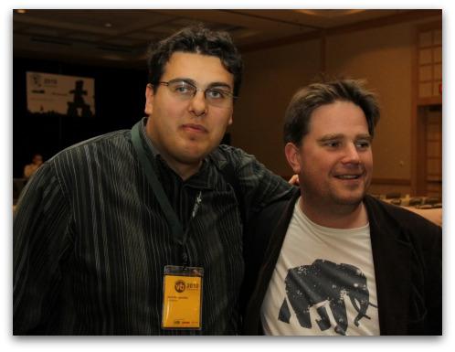 Nick Bilogorskiy and Graham Cluley, VB2010