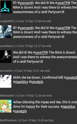 #savetpb tweets
