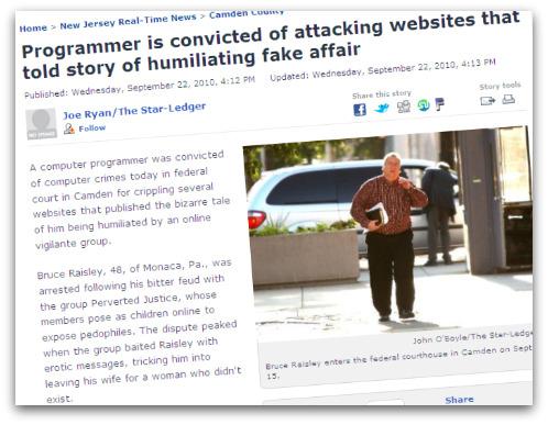 Headline about Bruce Raisley