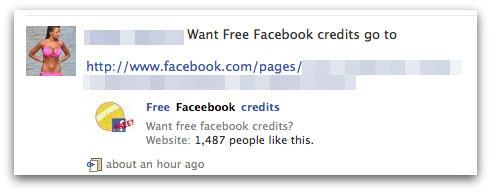 Free Faceebook credits. Want free facebook credits?