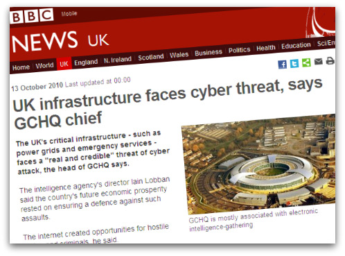 BBC article about GCHQ chief