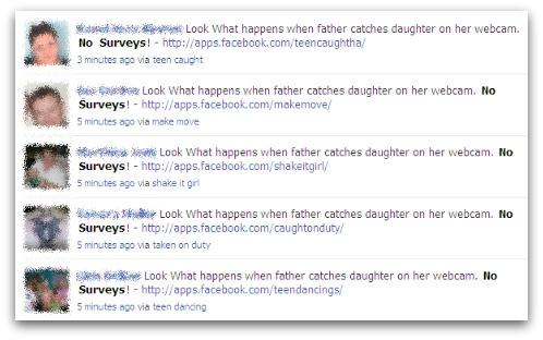 Rogue Facebook applications