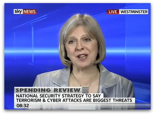 Theresa May on Sky