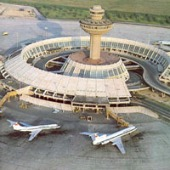 Yerevan airport in Armenia