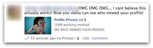 OMG OMG OMG... I cant believe this actually works! Now you really can see who viewed your profile!