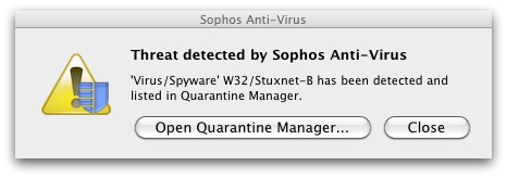 Sophos Anti-Virus Home Edition for Mac stopping Windows malware