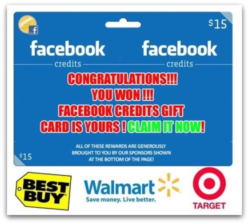 Free Facebook Credits