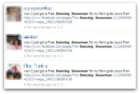 Dancing snowman updates