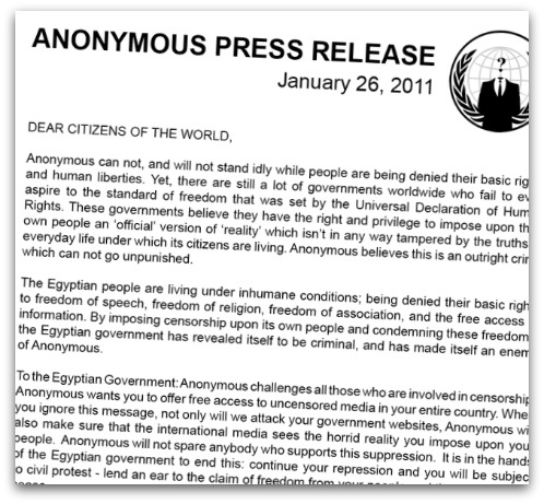 Anonymous press release